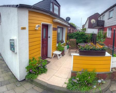 Haus Elsass im Oberland Helgolands.