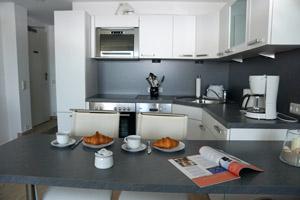 Küchenzeile in Haus Fernsicht, Apartment 15.