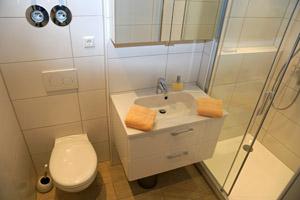 Duschbad in Haus Fernsicht, Apartment 15.