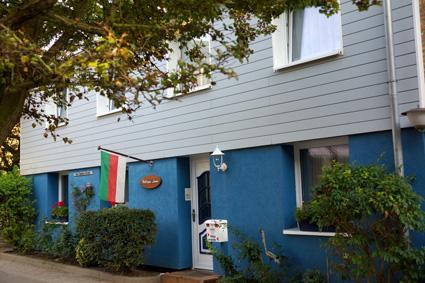 Haus Hilligen Lunn im Unterland Helgolands.