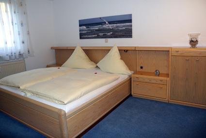 Das Schlafzimmer in Apartment Hilligen Lunn 1.