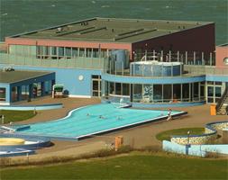 Das Schwimmbad auf Helgoland